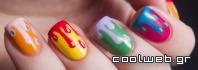 νύχια σε στυλ κοινωνικά δίκτυα