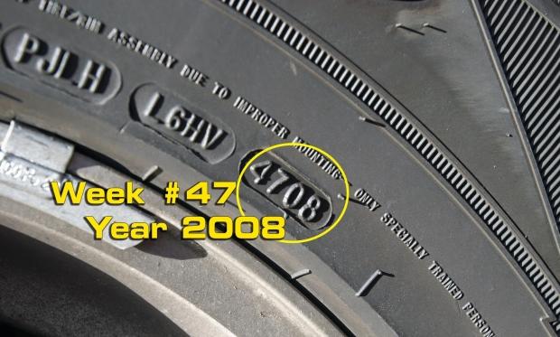 ημερομηνία κατασκευής ελαστικών
