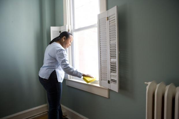 καθαρίστε καλά πριν μπείτε στο νέο σπίτι