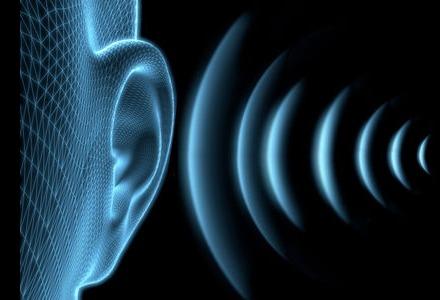 ο ήχος φτάνει στα αυτιά μας με τη μορφή κύματος