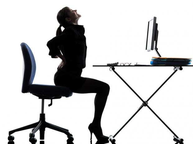 μην κάθεστε συνέχεια σε μια καρέκλα