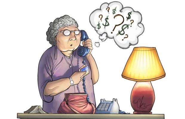 μην πιστεύετε ότι σας πουν στο τηλέφωνο