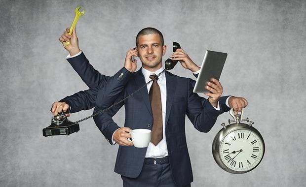 γίνε παραγωγικός όχι απασχολημένος
