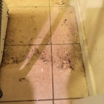 καθαρίστε και πίσω και κάτω από το πλυντήριο