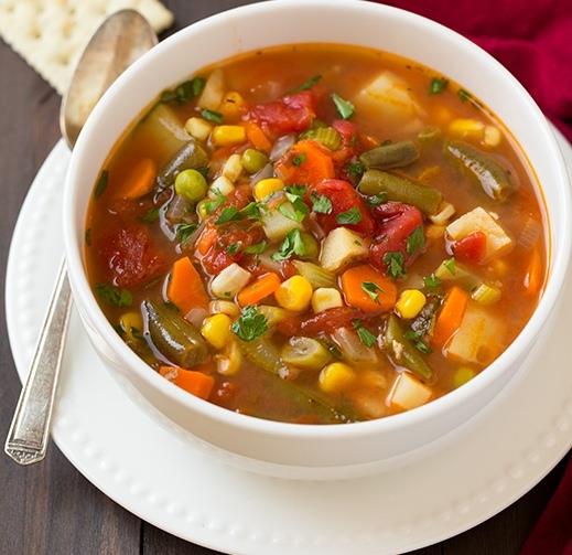 φτιάξτε σούπες λαχανικών