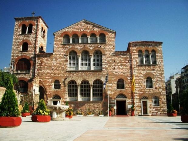 ο ιερός ναός του αγίου Δημητρίου στη Θεσσαλονίκη