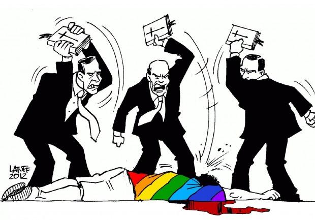 η ομοφοβία πηγάζει από φανατισμό, θρησκεία κλπ