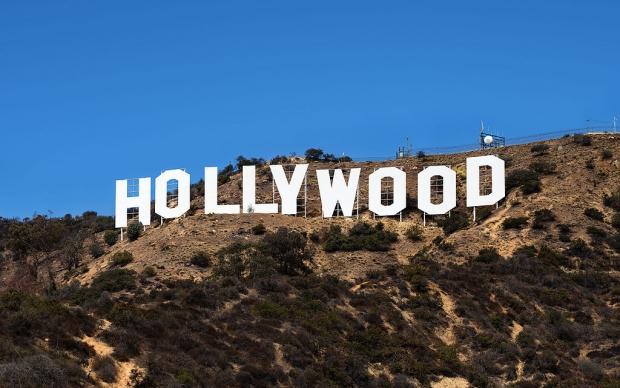 η γνωστή ταμπέλα hollywood