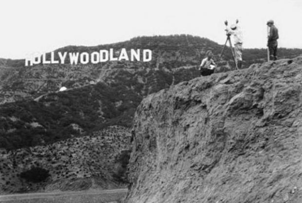 Η αρχική πινακίδα Hollywoodland