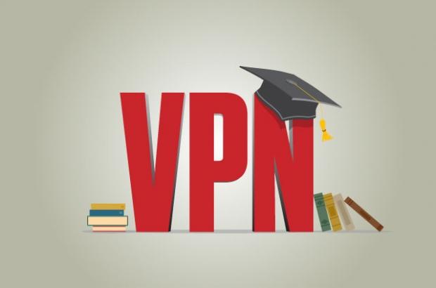 τα πανεπιστήμια συνήθως έχουν vpn για τα μέλη τους