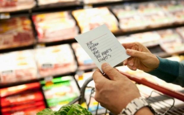 μην βγείτε για ψώνια χωρίς λίστα