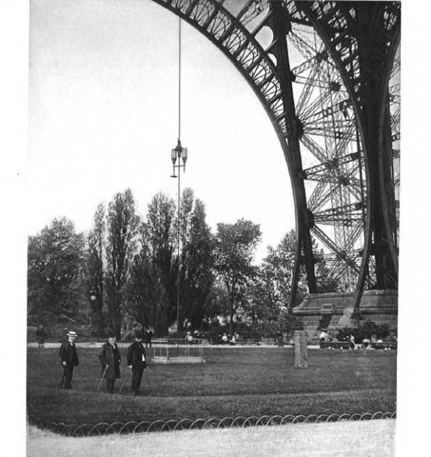 τα πειράματα του Άιφελ για την αντοχή του πύργου στους ισχυρούς ανέμους