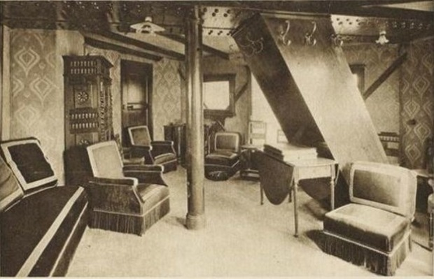 το εσωτερικό του κρυφού δωματίου του πύργου του Άιφελ
