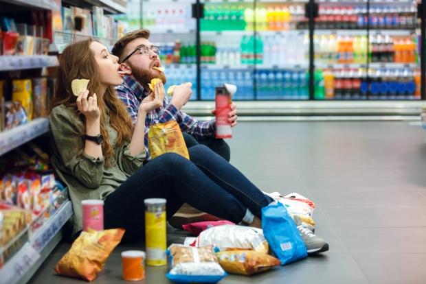 Δεν πρέπει να πηγαίνουμε για ψώνια πεινασμένοι