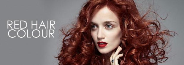 κόκκινο χρώμα στα μαλλιά