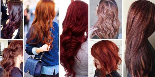 Διάφορες αποχρώσεις του κόκκινου στα μαλλιά και πως να διατηρήσετε το χρώμα