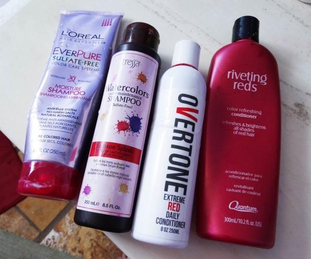 Προτιμήστε προϊόντα περιποίησης που είναι ειδικά σχεδιασμένα για κόκκινα μαλλιά