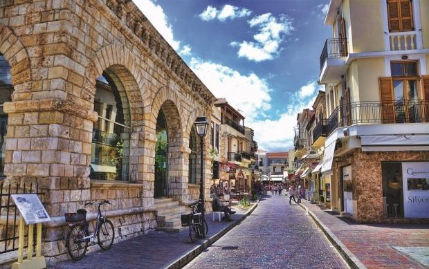 Η παλιά πόλη του Ρεθύμνου