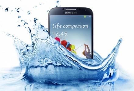 smartphone έπεσε σε νερό