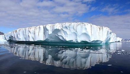 πάγος στη θάλασσα