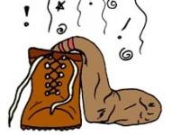 μυρίζουν άσχημα τα παπούτσια