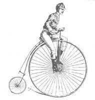 πετάλια και ρόδες ποδηλάτου