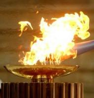 ιστορία ολυμπιακής φλόγας