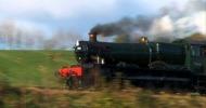 καπνός καμινάδα τρένου