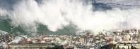 τσουνάμι δημιουργείται