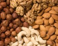 ευεργετικές τροφές - ξηροί καρποί