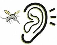 κουνούπια ζουζουνίζουν στα αυτιά
