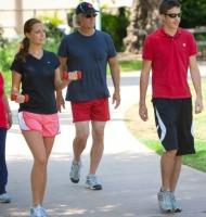 περπάτημα και λίπος