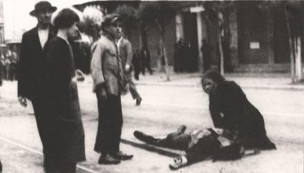 Ο θρήνος της μάνας στα γεγονότα του 1936 στη Θεσσαλονίκη