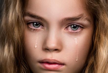 γυναίκα κλαίει