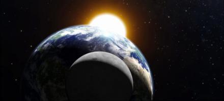 Το φεγγάρι, η Γη και ο ήλιος
