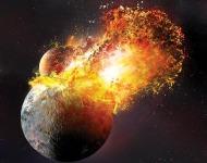 Η σύγκρουση με τη δημιουργία της Σελήνης