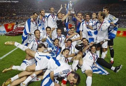 Η Εθνική Ελλάδος στο Euro 2004