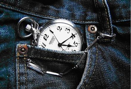 Ρολόι τσέπης σε τζιν