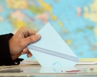 φάκελος με ψηφοδέλτιο