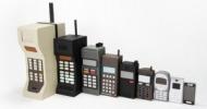 εξέλιξη κινητών τηλεφώνων