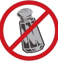 απαγορεύεται το αλάτι