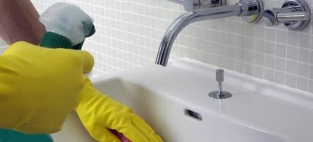 καθαρισμός νιπτήρα
