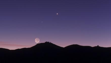 Η Αφροδίτη φαίνεται πριν πέσει η νύχτα