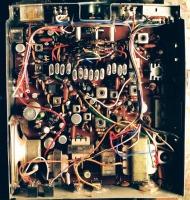εσωτερικό παλιού ραδιοφώνου