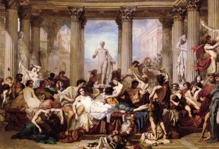 Τα Σατουρνάλια πρόγονος της Πρωτοχρονιάς