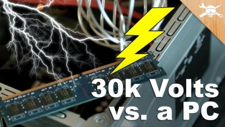 οι μνήμες RAM κινδυνεύουν από στατικό ηλεκτρισμό