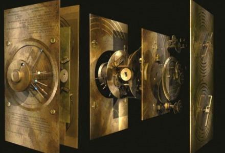 τρισδιάστατη απεικόνιση του μηχανισμού των Αντικυθήρων