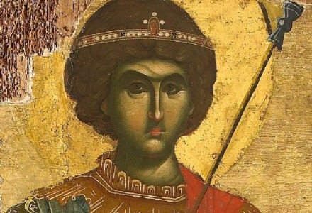 Ο τροπαιοφόρος Άγιος Γεώργιος