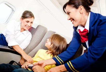 έλεγχος από αεροσυνοδό πριν την απογείωση