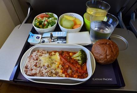 δεν φταίει η ποιότητα του φαγητού στο αεροπλάνο